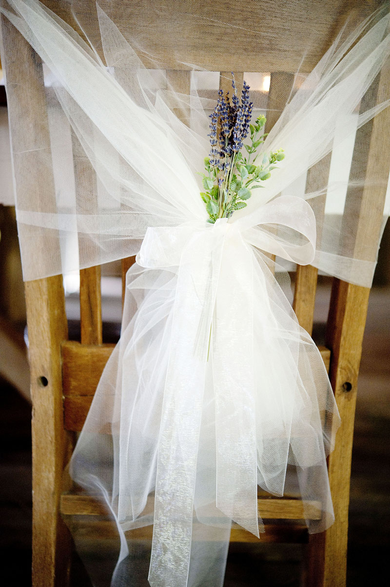 DIY Chair Decoration for Weddings Getting Married in Denmark